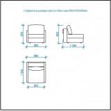 Комплект Эдем-7 диван и 2 кресла арт. 3-6