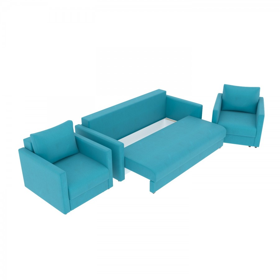 Набор Эдем-7 диван + 2 кресла (арт. 10)