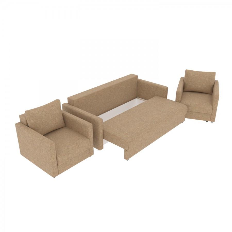 Набор Эдем-7 диван + 2 кресла (арт. 14)