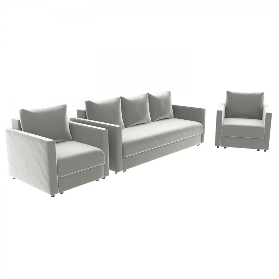 Набор Эдем-7 диван + 2 кресла (арт. 18)