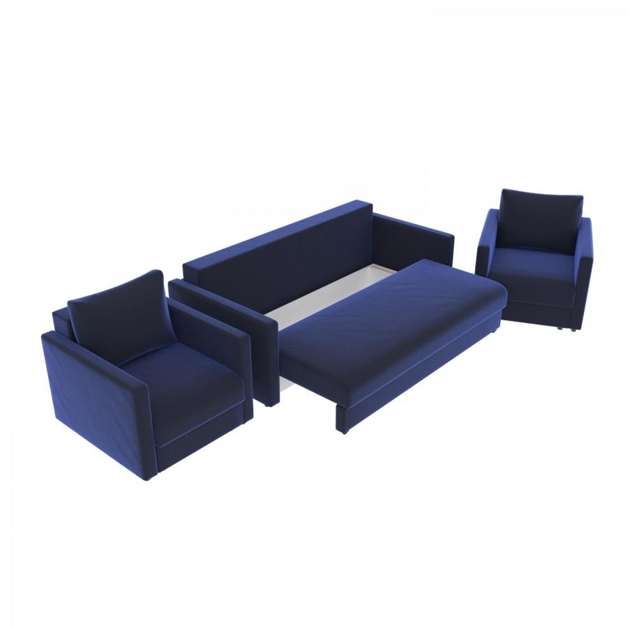 Набор Эдем-7 диван + 2 кресла (арт. 20)