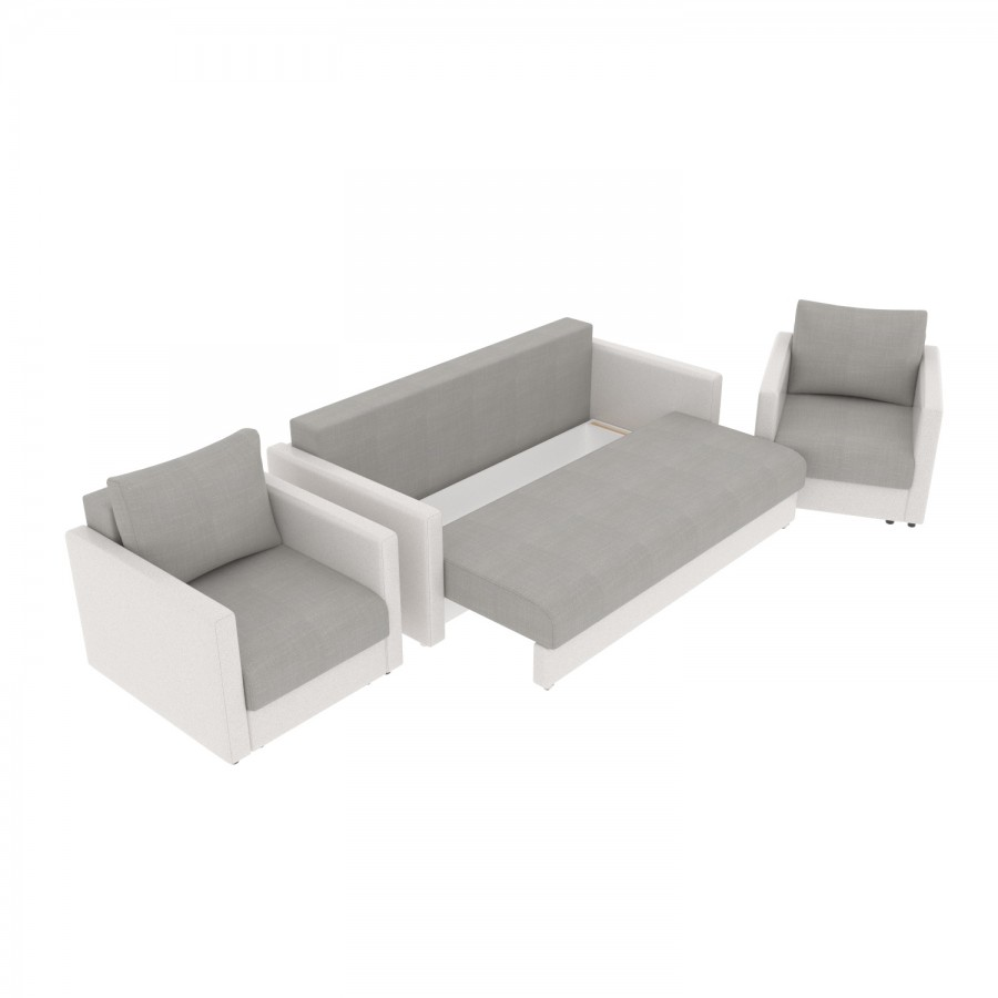 Набор Эдем-7 диван + 2 кресла (арт. 3-6)