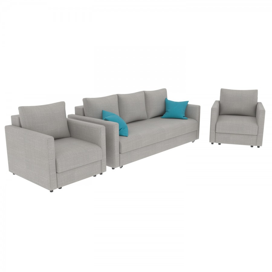 Набор Эдем-7 диван + 2 кресла (арт. 3-10)