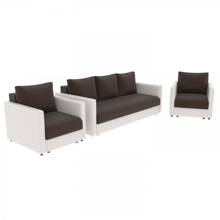 Набор Эдем-7 диван + 2 кресла (арт. 5-6)