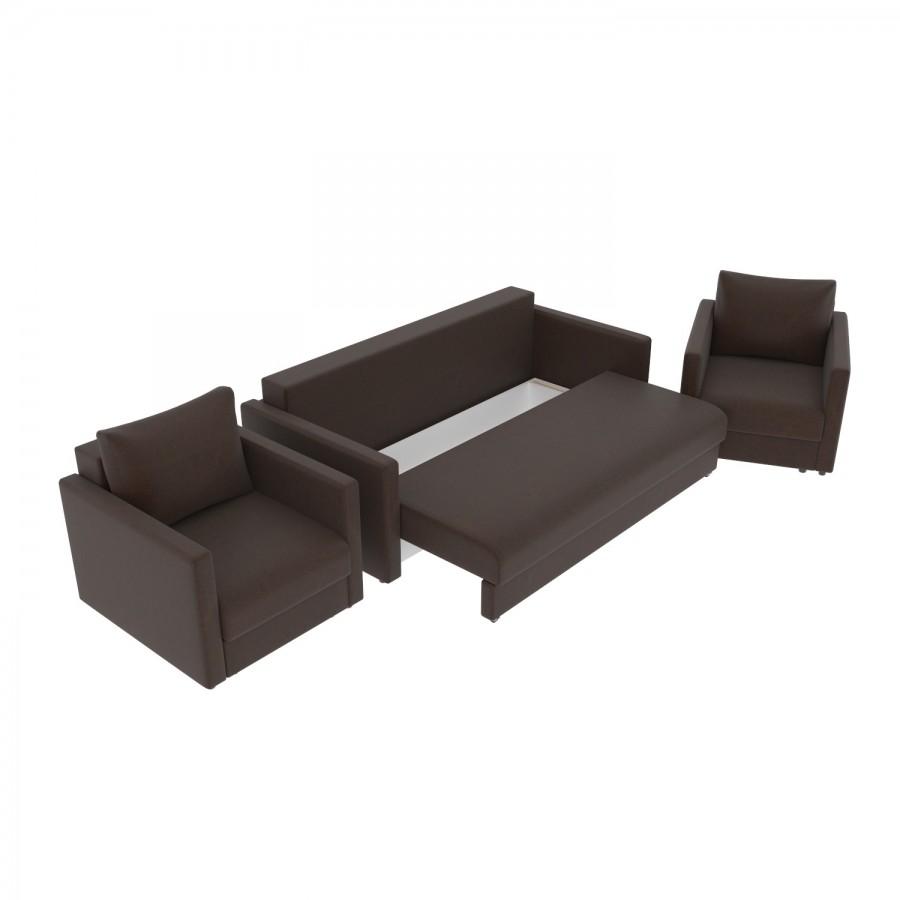Набор Эдем-7 диван + 2 кресла (арт. 5-10)
